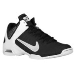black and white nike sneaker from footlocker
