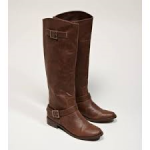 American eagle buckled riding boots brown