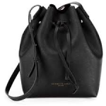 Dover Street Saffiano Leather Bucket Bag Kenneth Cole