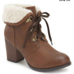 Fold-Over Bootie from the Bethany Mota collection at Aéropostale