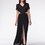 Open Back Maxi Dress Pac Sun Kendall and Kylie Collection Trendy Look