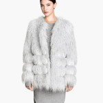 Trendy Look Faux Fur Jacket H&M