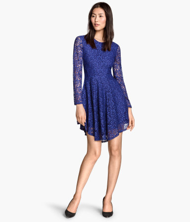 Dressy Lace Circle Dress from H & M