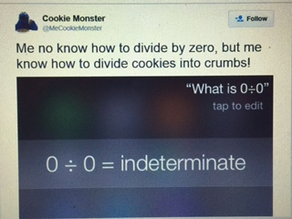 Cookie monster response to siri