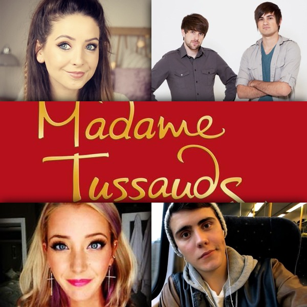 madame tussauds youtube wax figures