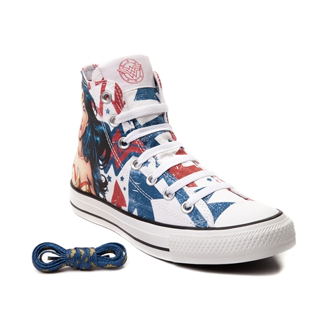 Uniform Look Converse All Star Hi Wonder Woman Sneaker from Journeys