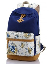 Uniform Look Leaper Casual Canvas Backpack