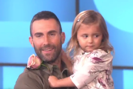 little girl who loves adam